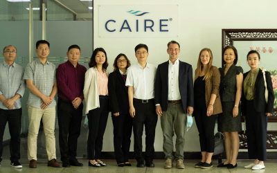 U.S. Consul General visits CAIRE's Chengdu facility