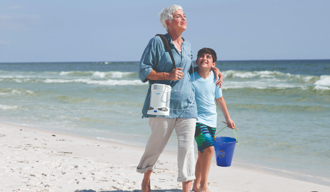 Product Feature: The FreeStyle Comfort portable oxygen concentrator