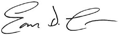 Earl Lawson Signature