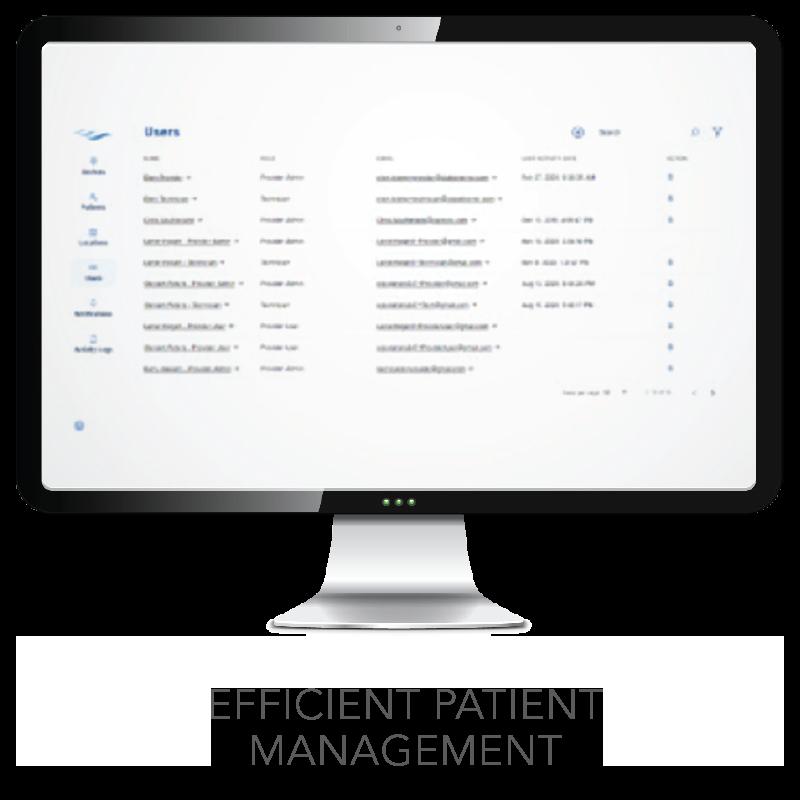 myCAIRE Efficient Patient Management